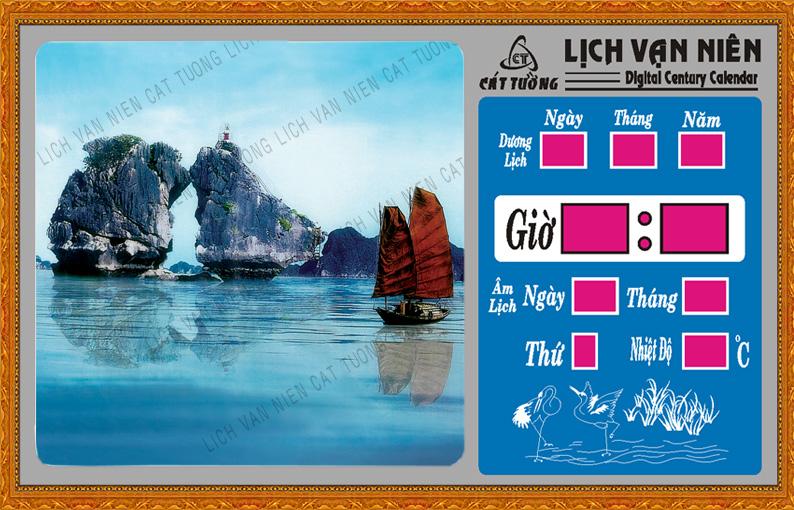 Lich van nien, Lich van nien - Vịnh Hạ Long - 702