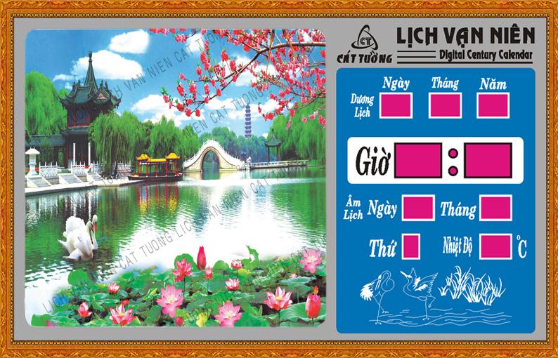 Lich van nien, Lich van nien - Hồ sen - 703